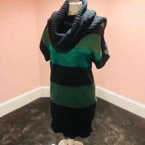 Vintage Benetton wool sweater dress